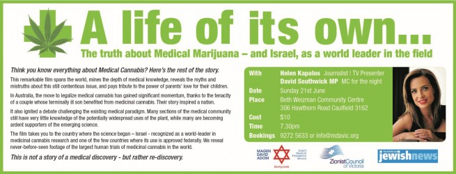 A Life of Its Own...The Truth about Medical Marijuana