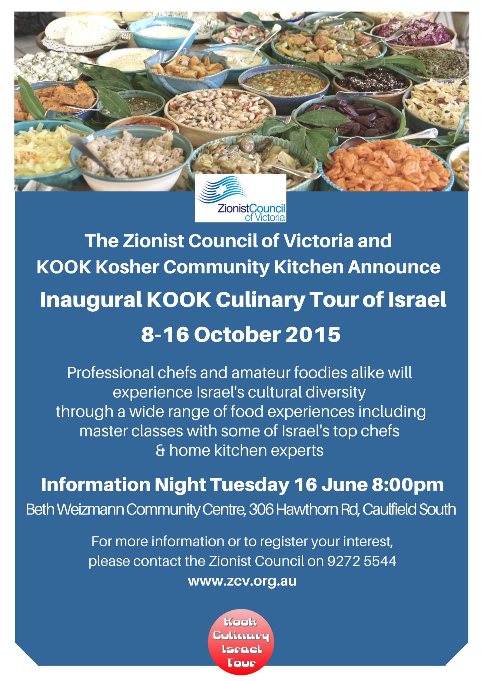 KOOK Culinary Tour Info Night