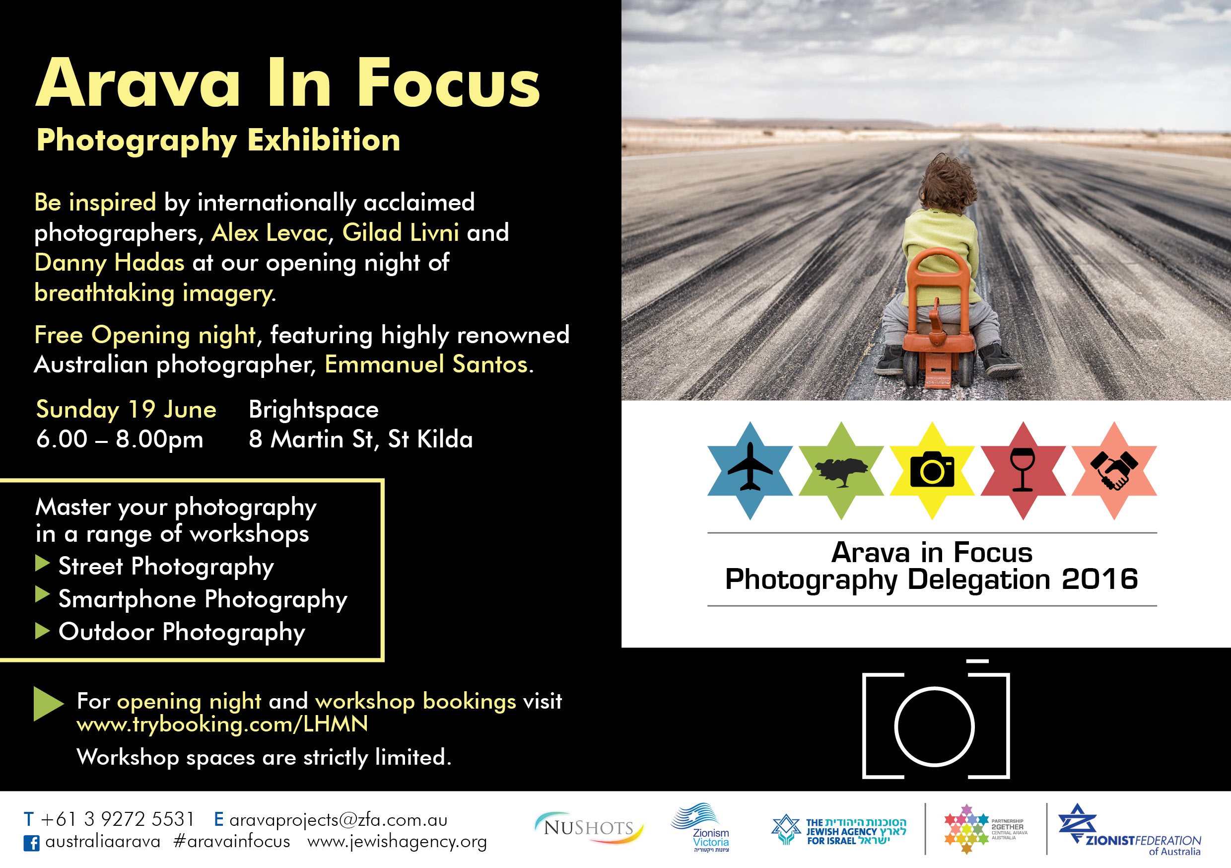 Arava in Focus_Opening night and workshops
