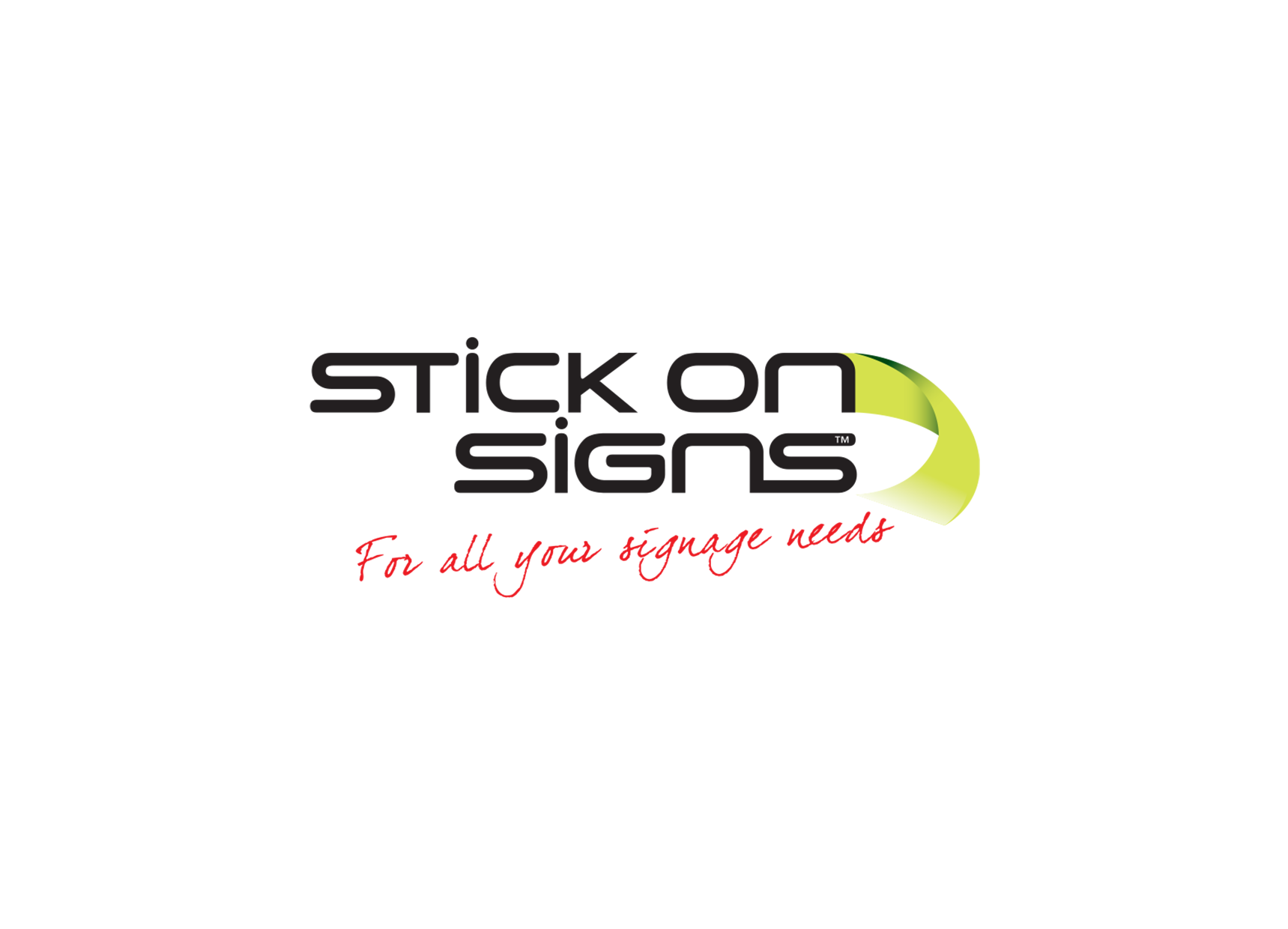Logo Tiles - Stick On Signs